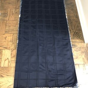 Rich navy blue tablecloth